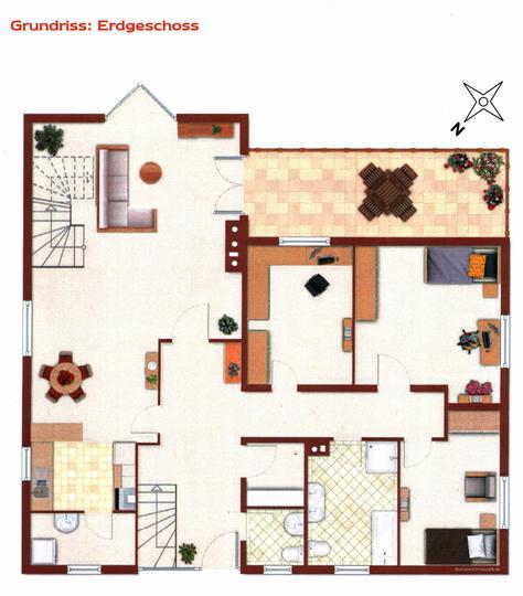bobotec immobilien 1 2 familienhaus grundriss eg. Black Bedroom Furniture Sets. Home Design Ideas